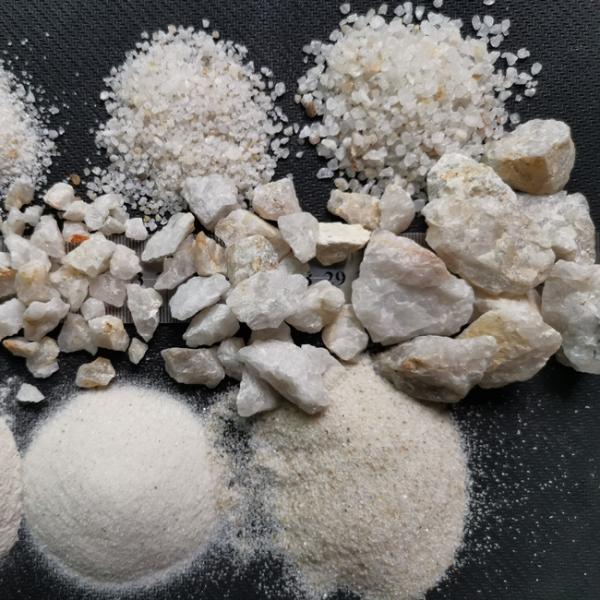 云南石英砂滤料生产厂家